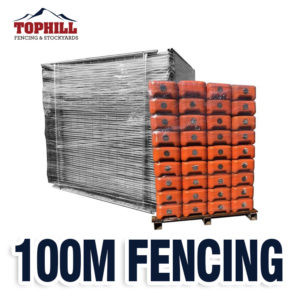 100M Temporary Fence Combo