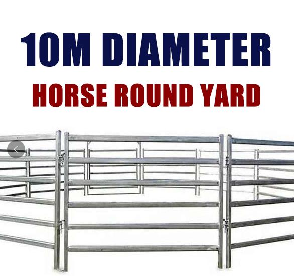 10M Horse Round Yard