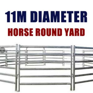 11M Horse Round Yard