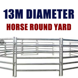 13M Horse Round Yard