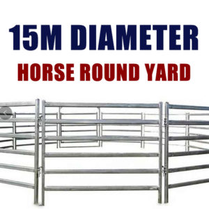 15M Horse Round Yard