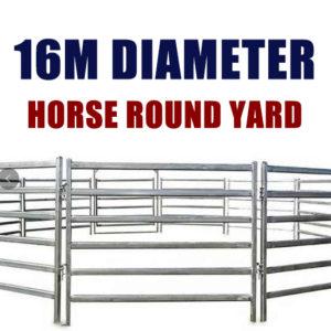 16M Horse Round Yard