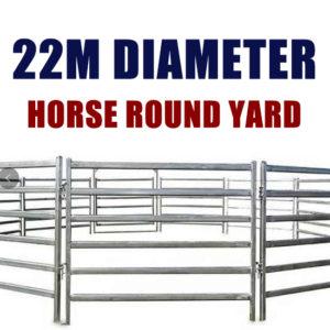 22M Horse Round Yard