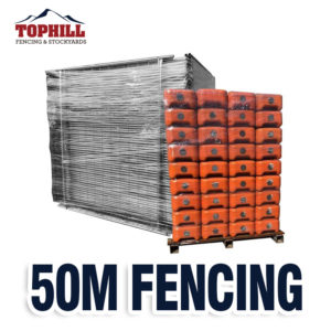 50M Temporary Fence Combo