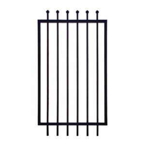 975w x 2100h security gate