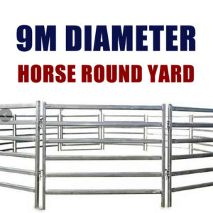 9M Horse Round Yard