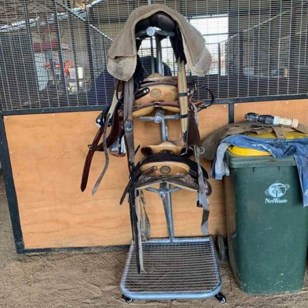 Horse Saddle Rack