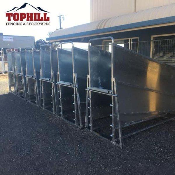 top hill adjustable sheep loading ramp