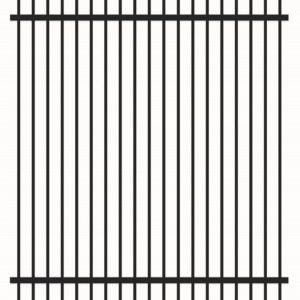 1.5m rod top security fence
