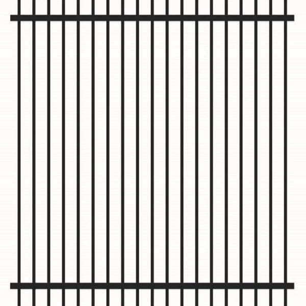 1.5m rod top security fence