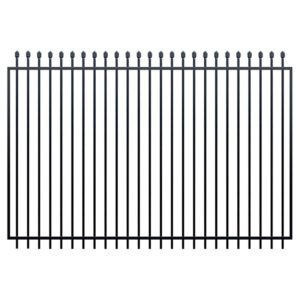 2m security fence swing gate