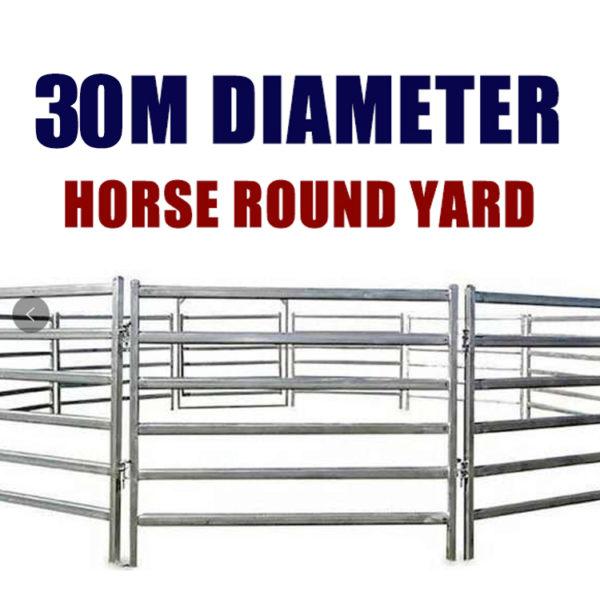 30M Horse Round Yard
