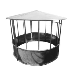 Round Bale Hay Feeder Ring Feeder with roof