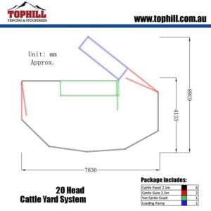 20-Head-Cattle-Yard-System