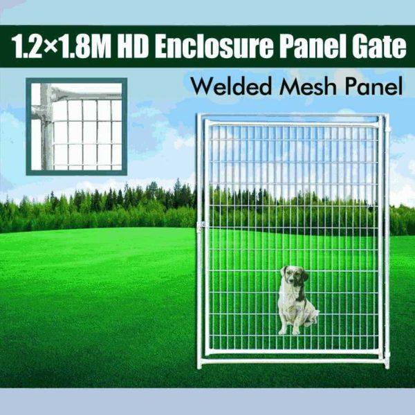 1.2m dog run mesh gate