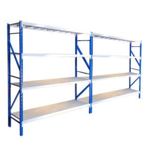 garage shelving 2bay 600kg