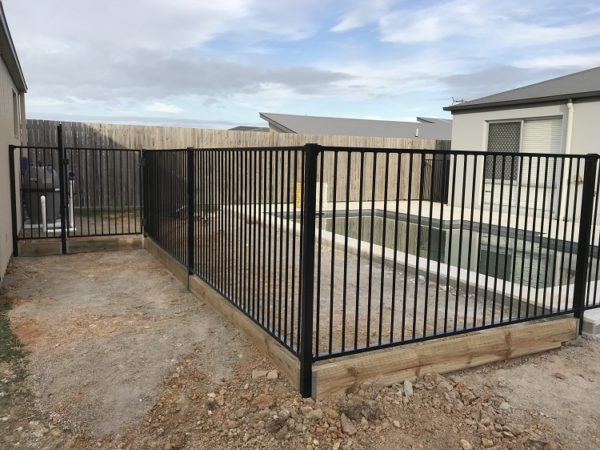 1.5m Flat top security fence panel