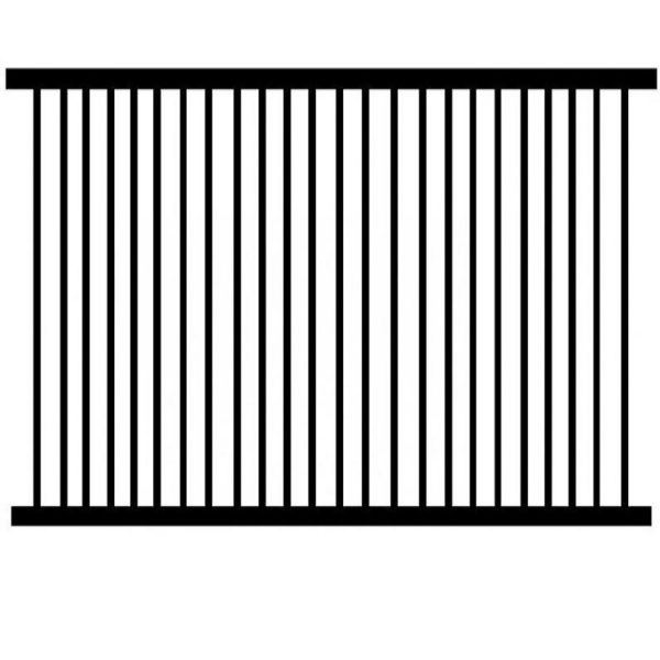 FLAT TOP SEUCRITY FENCE