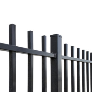 security fence rod top